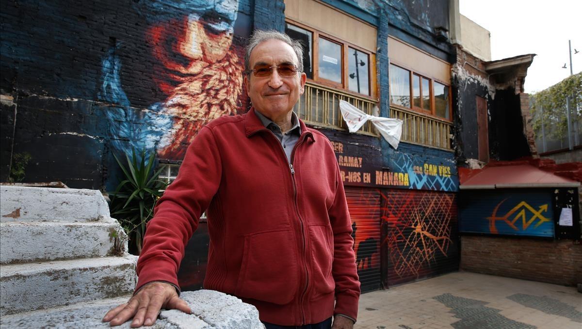 Jean-Pierre Malé, economista y experto en cooperación quevivió el Mayo del 1968, en Barcelona, ciudad en la que reside.