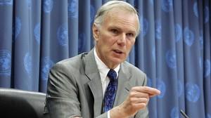 El relator de la ONU para la pobreza, Philip Alston.