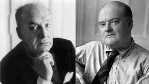 Vladimir Nabokov y Edmund Wilson.
