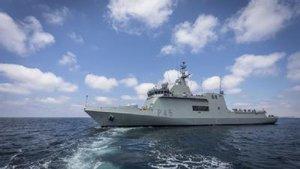 El barco de la Armada 'Audaz'.