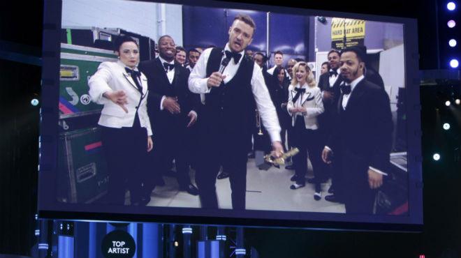Justin Timberlake, rei dels Billboard amb set premis
