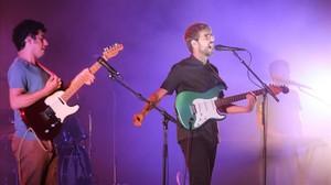 Actuació del grup Manel al Festival de Cap Roig, a Calella de Palafrugell.