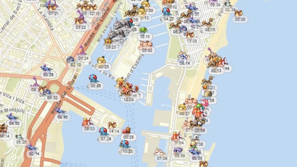 Pokemon Go Mapa Barcelona.Donde Se Esconden Los Pokemon Mas Exclusivos En Barcelona