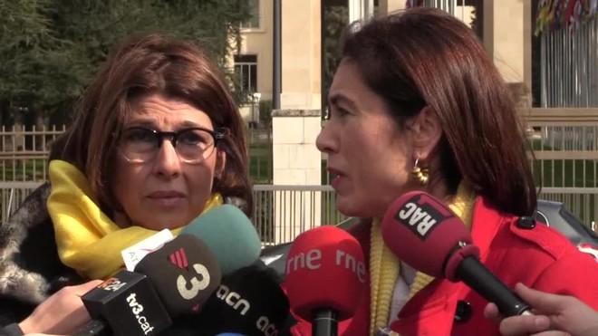 Parejas de Cuixart y Forn denuncian presunta violación de la separación de poderes