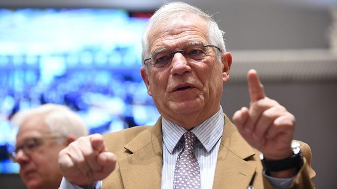 Borrell demana evitar que el 'brexit' es proclami i se suspengui, com la DUI catalana