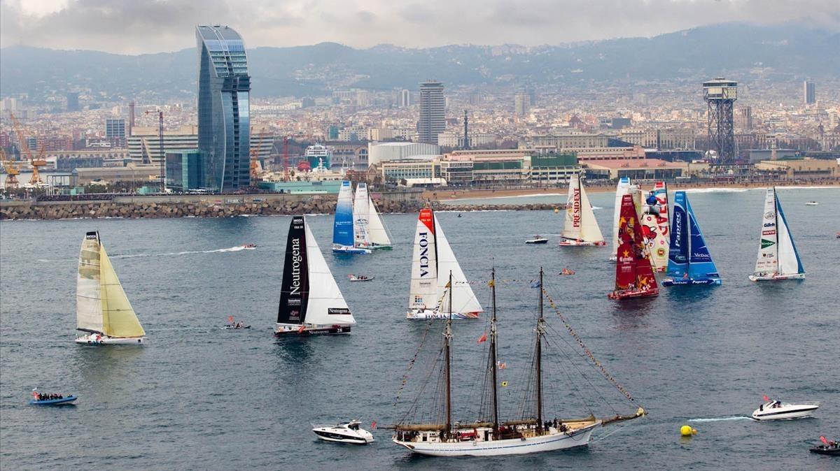 València negocia acollir una versió de la suspesa Barcelona World Race del 2019