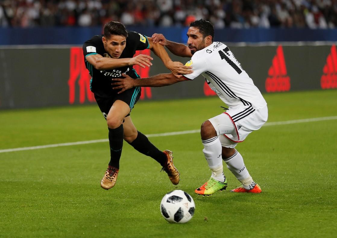 El Madrid roza la tragedia ante el modesto Al Jazira (1-2)