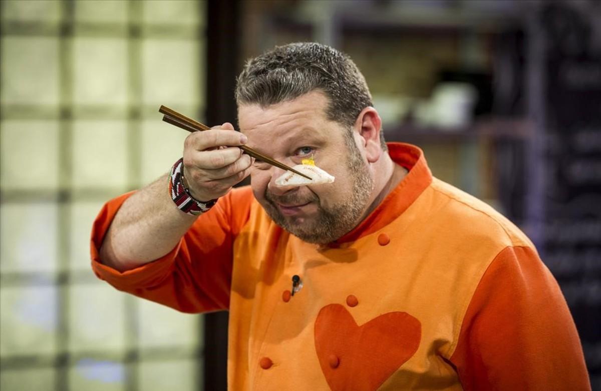 Alberto Chicote, presentadordel programa de Antena 3 Top chef, con nuevo espacio a la vista.