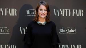 Andrea Levy, el pasado 12 de junio, en una entrega de premios de Vanity Fair en Madrid.