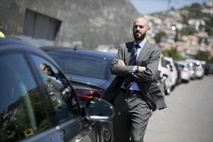 De Antonio posa en Sitges el viernes pasado.