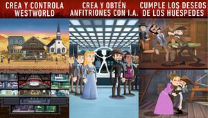 La aplicación Westworld.