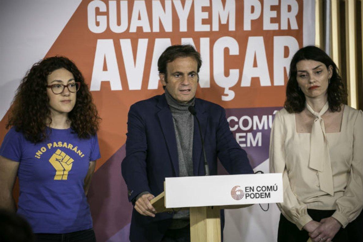Els comuns es conjuren per a la batalla de Barcelona
