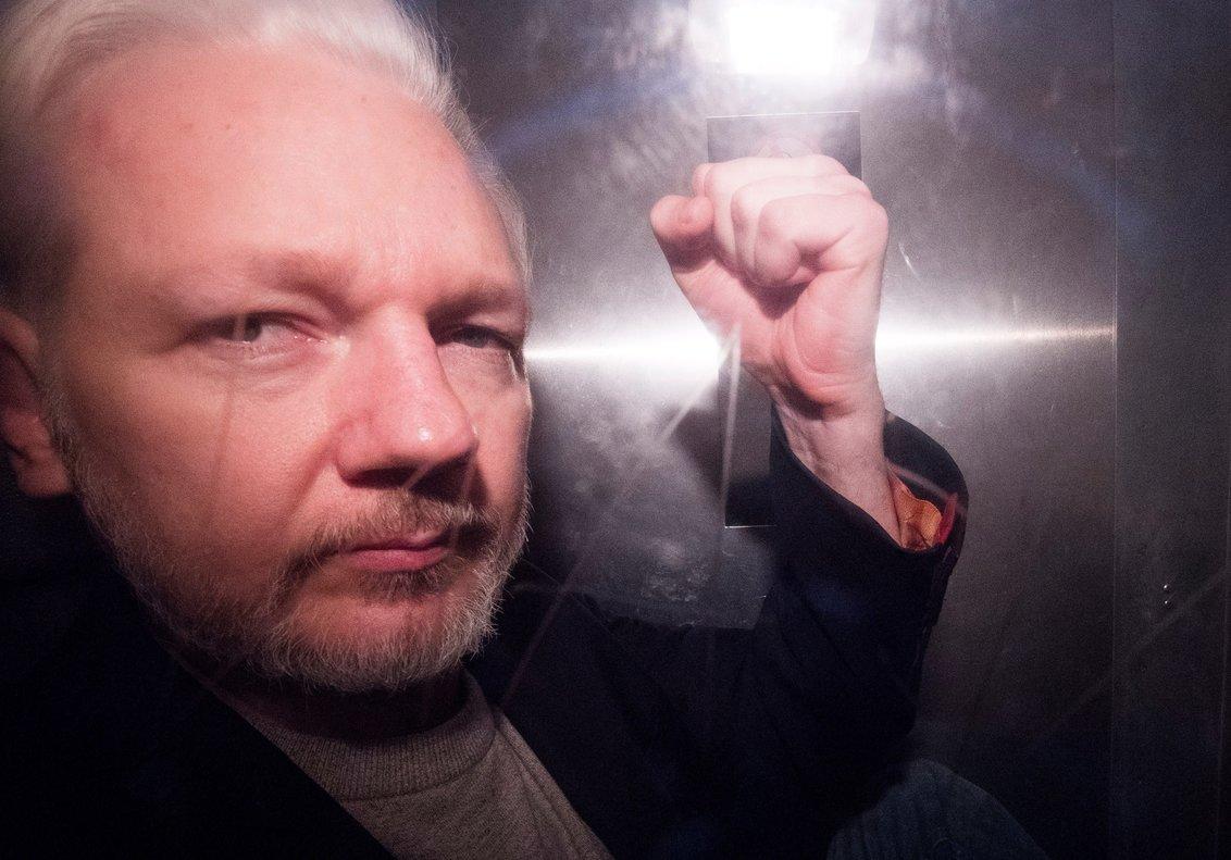 El fundador de Wikileaks,Julian Assange enel tribunal de Southwark de Londres. EFE
