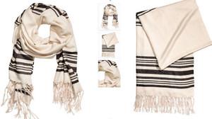 H&M demana perdó per una bufanda de ratlles