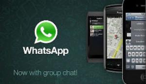 Captura de pantalla de la web de Whatsapp.