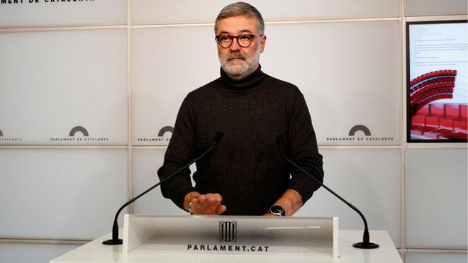 Carles Riera, de la CUP, pide el cese inmediato de Buch y de los altos cargos de los Mossos.
