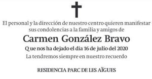 Carmen González Bravo