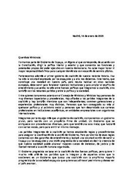 Carta de Sánchez
