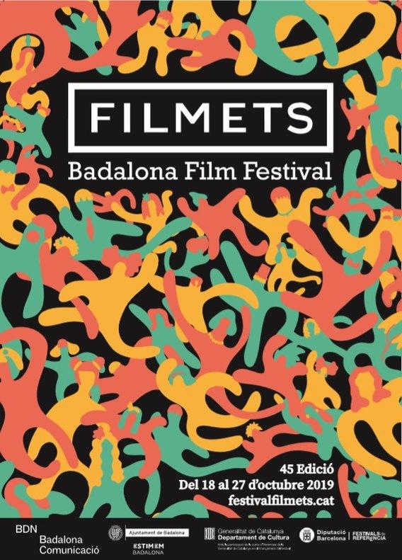 Cartel del Festival Filmets de Badalona.