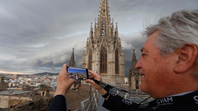 Tocar el cel de la catedral