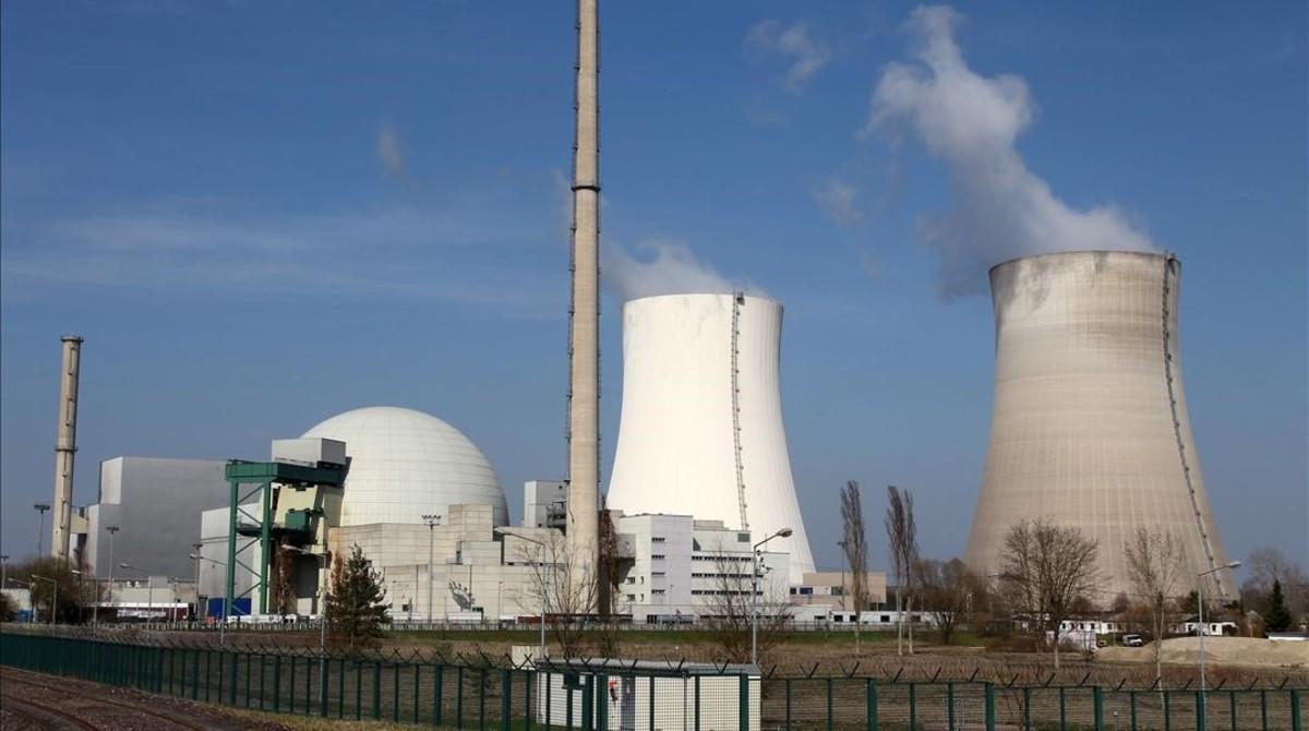 Central nuclear de Biblis, en Alemania.