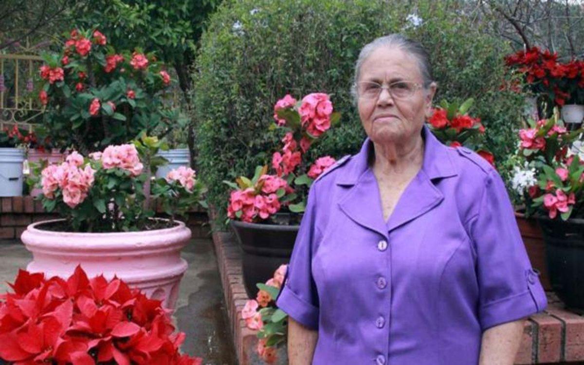 Consuelo Loera, madre del capo mexicano Joaquín 'El Chapo' Guzmán.