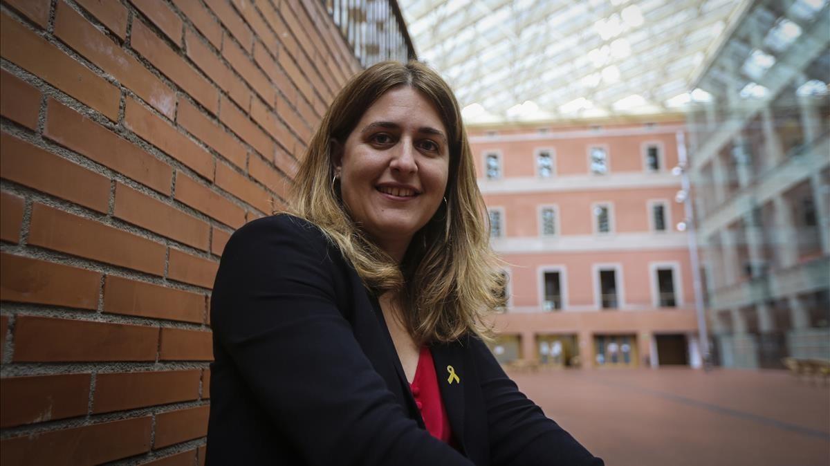 La coordinadora del PDECat, Marta Pascal.
