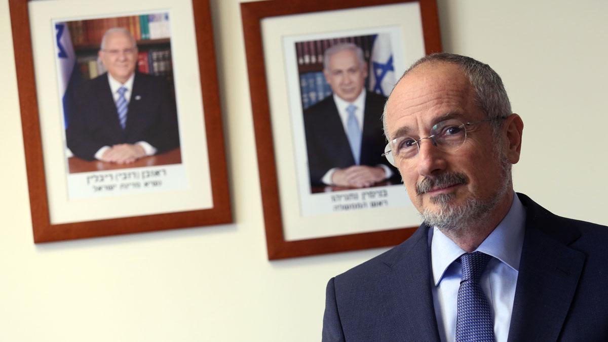 David Kutner, embajador de Israel en España.
