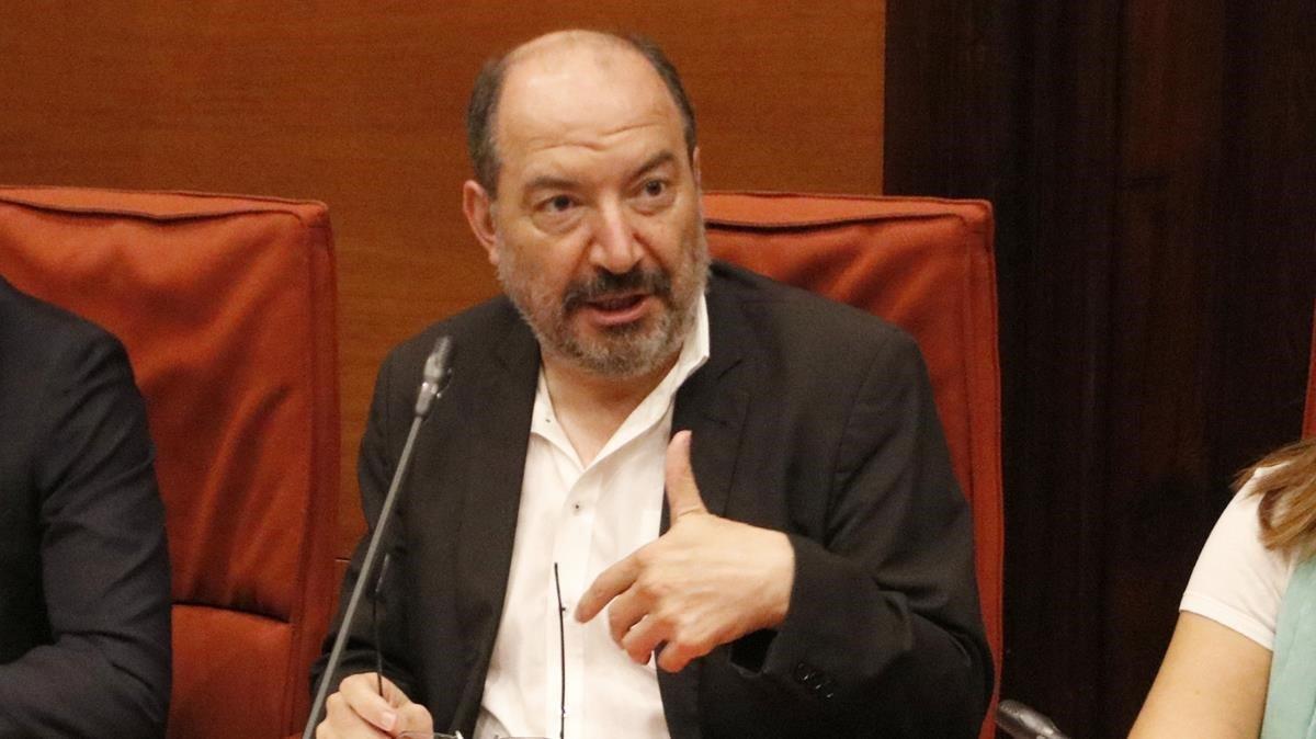 El director de TV-3, Vicent Sanchis