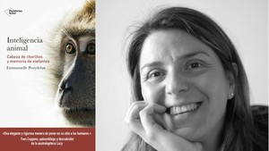 La bióloga Emmanuelle Pouydebat, autora de Inteligencia animal (Plataforma Editorial,2018)