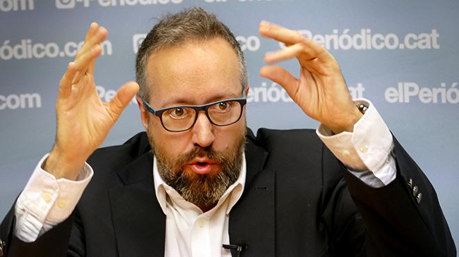El portaveu del grup parlamentari de Ciutadans al Congrés dels Diputats, parla sobre El Procés, la campanya i Albert Rivera.
