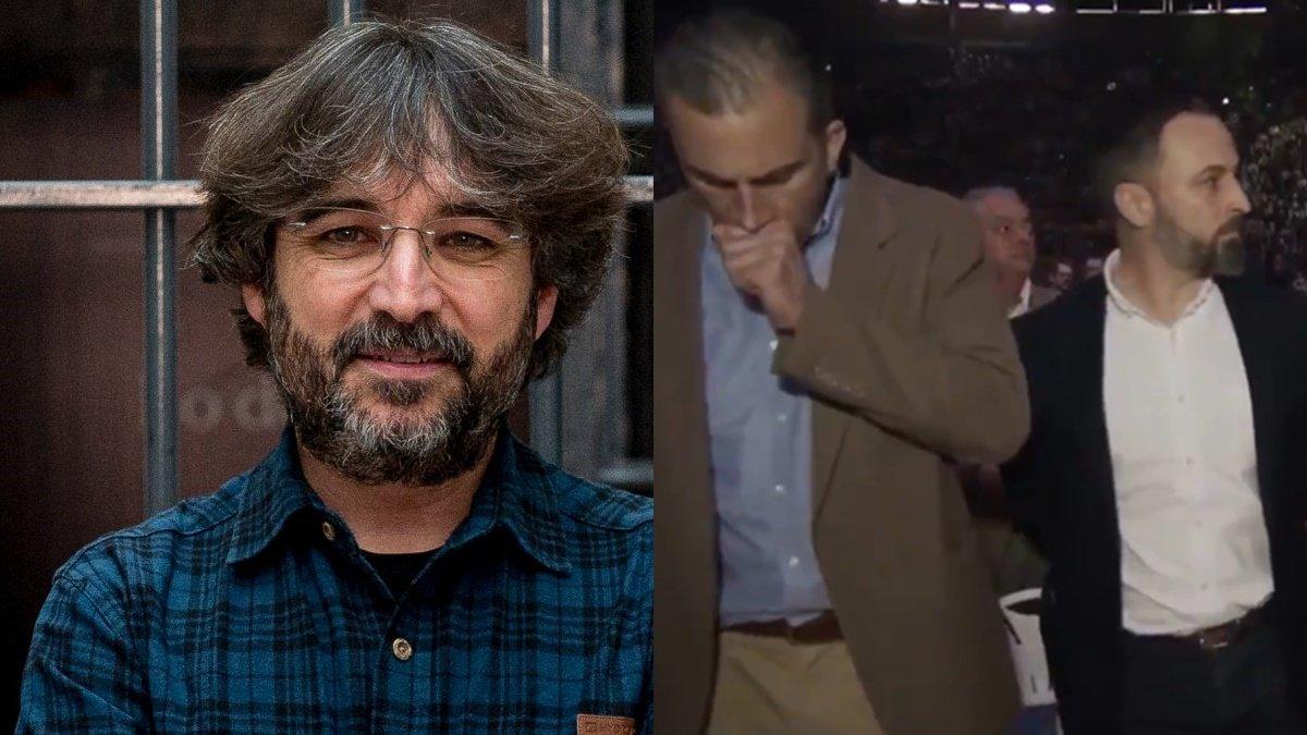 """El dardo de Évole a Vox tras el positivo de Ortega Smith en coronavirus: """"Gracias por no dejarnos entrar en vuestros actos"""""""