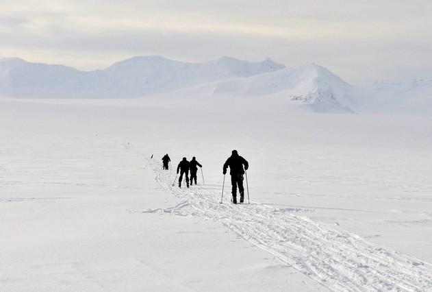 Se registran por primera vez temperaturas de -98 grados en la Antártida