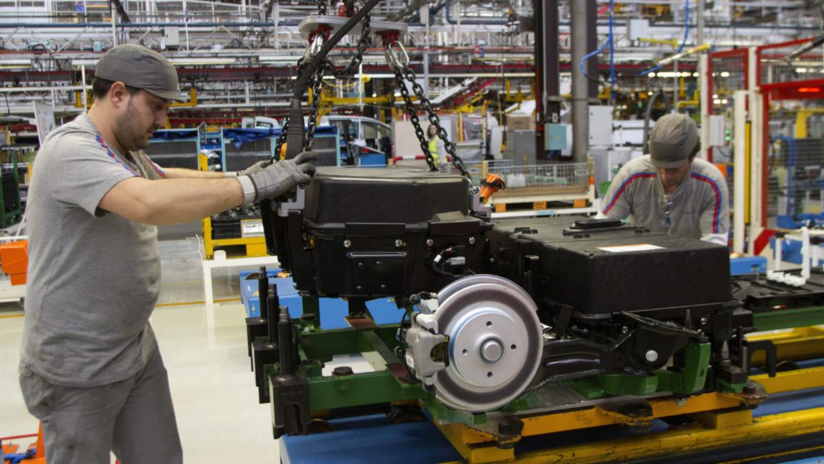 Factoría del grupo PSA en Vigo encargada de la producción de Berlingo y Partner