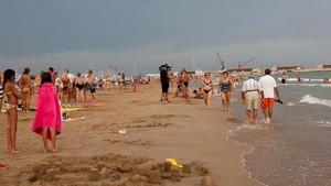 Playa deVilanova i la Geltrú.
