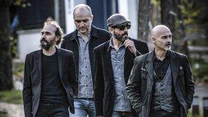 El grupo de rock madrileño Los Enemigos.