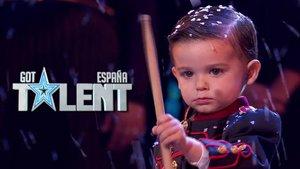 Hugo Molina, ganador de la quinta edición de 'Got Talent España'.