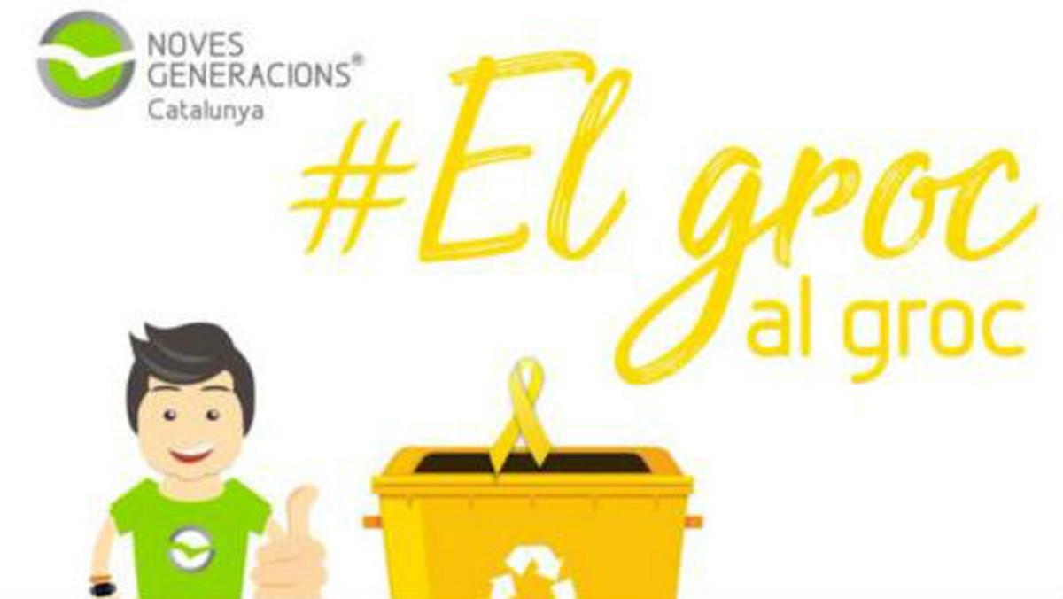 Imágen de la campaña El groc al groc