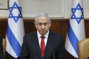El primer ministro de Israel,Binyamin Netanyahu . AP