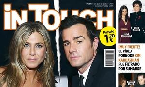 Jennifer Aniston y Justin Theroux copan la portada de la revista In Touch de esta semana a raíz de su separación silenciosa.