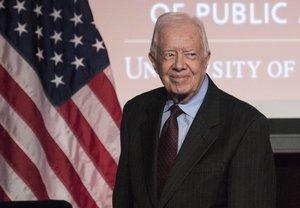El mandato presidencial de Carter duró solo cuatro años debido principalmente al impacto de la crisis de los rehenes estadounidenses de 1979 en Irán.