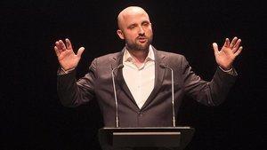 Jordi Graupera, durante la presentación de su candidatura el pasado 20 de marzo.