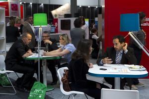 Jornada de contactos entre emprendedores y pymes, el pasado junio en Barcelona.