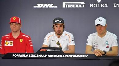 Alonso no descarta un podio en Baréin con el nuevo McLaren
