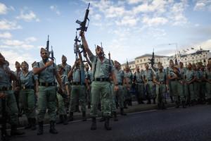 Foto de miembros de la Legión