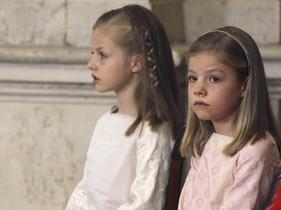 Elionor, al fons, i Sofia, aquest dimecres.