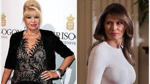Ivana i Melania Trump, enfrontades