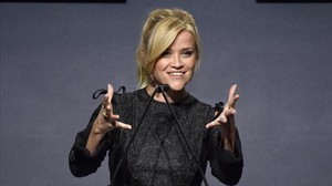 Reese Witherspoon, fundadora de la productora Hello Sunshine, durante la 24ª edición de la gala anual de mujeres de la revista ELLE.