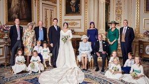 Eugènia de York mostra les seves fotos de casament oficials