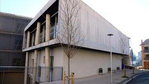 El edificio de la Escola Municipal de Berga, este 15 de enero